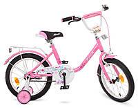 """Велосипед детский Profi Y1681 Flower 16""""."""