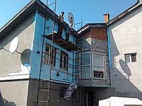 Утепление фасадов домов, теплоизоляция.
