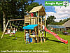 Детская площадка Джангл Джим Palace & Swing Module & Mini Market Module