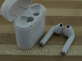 AirPods i7s case MDR TWS гарнитура в стиле apple, Bluetooth headset наушники-гарнитура, белая, фото 2