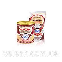 Частично обезжиренное 7% белорусское молоко сгущенное с сахаром и натуральным кофе Рогачев 380г