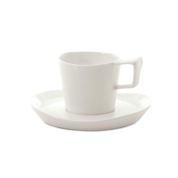 Чашка для кофе с блюдцем BergHOFF Eclipse 180 мл (3700432)