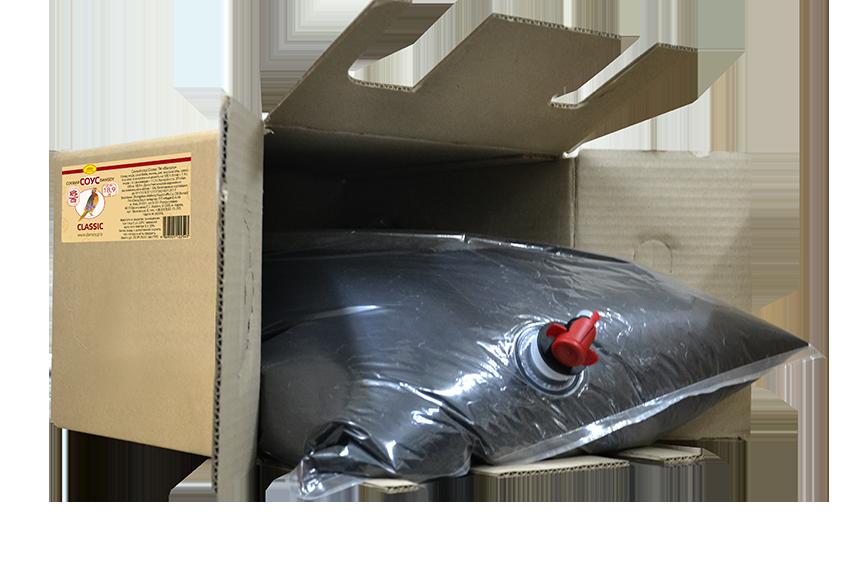 """Соєвий соус натурального бродіння """"DanSoy"""" Classic (ДанСой Классік) 18.9л картонна коробка"""