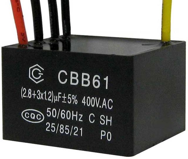 Пусковой конденсатор CBB61