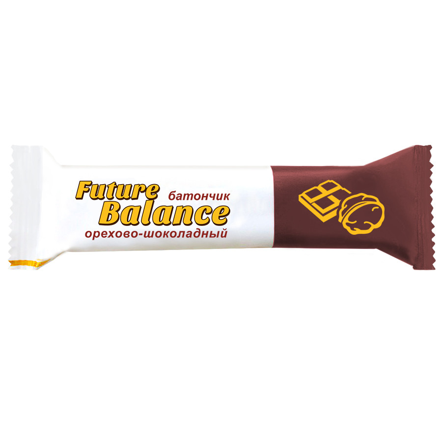 Батончик Future Balance ОРЕХОВО-ШОКОЛАДНЫЙ, 30 г