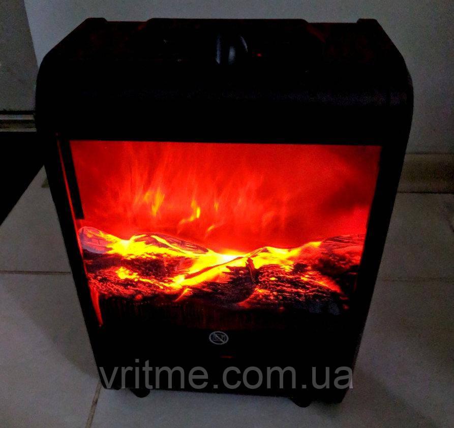 Обогреватель - электрокамин с 3D эффектом живого огня