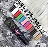 Гель краска для стемпинга и китайской росписи Global Fashion, бирюзовый №5, 8 мл, фото 3