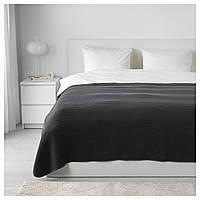 IKEA VARELD Покривало, темно-сірий (603.464.47)