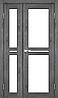 Двери KORFAD ML-06 Полотно+коробка+1 к-кт наличников, эко-шпон, фото 4