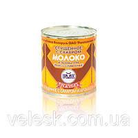 """Сгущенное белорусское с сахаром молоко 8,5% и ароматом """"Ирисо-сливочный"""" Рогачев 380г"""