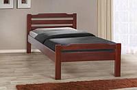 Кровать Ольга (буковый щит) 140-200 см (каштан)