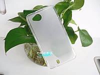 Чехол накладка для FLY IQ444 Diamond белый