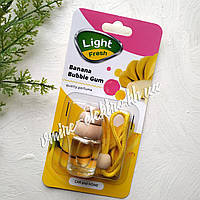 Ароматизатор в машину (банановая жвачка) Light Fresh Banana Bubble Gum