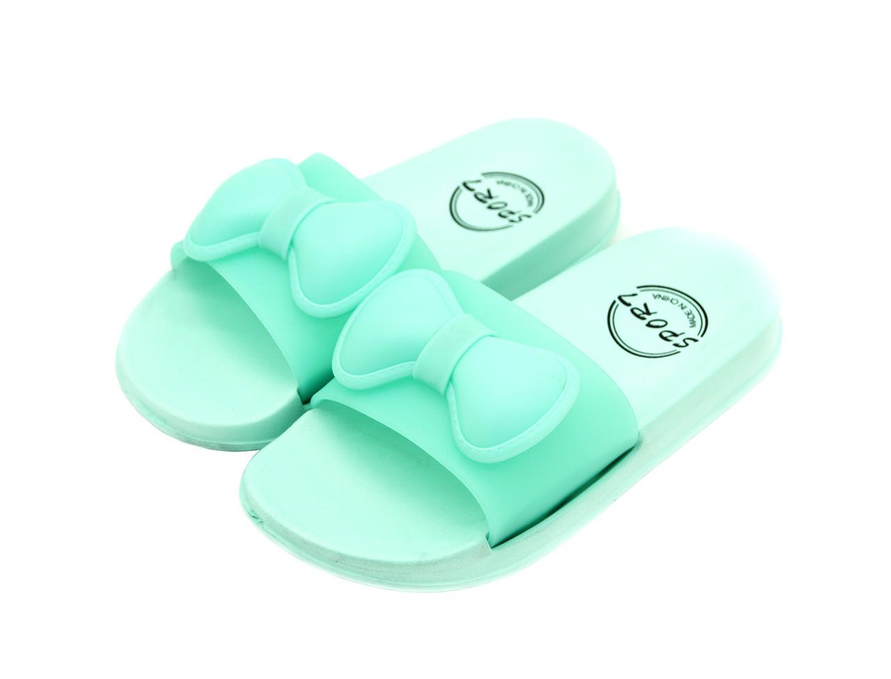 Тапочки для девочки Размеры: 24 Мятный