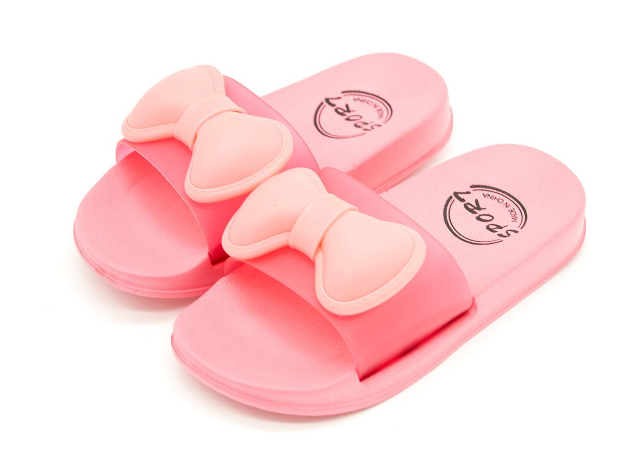 Тапочки для девочки Красный Размеры: 24, 25