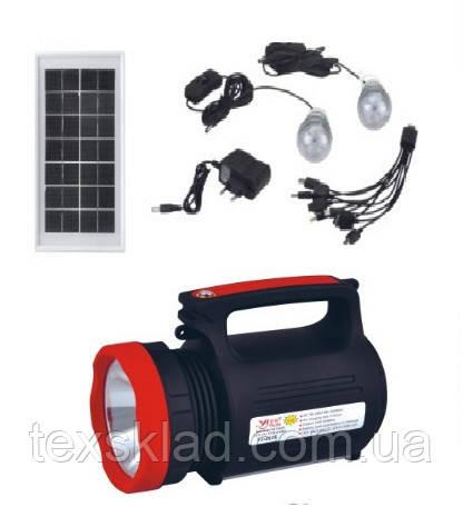 Автономний універсальний ліхтар - світильник Yajia YJ-1902T 5W+22SMD (Power Bank)
