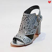 Женские босоножки квадратный каблук, фото 1