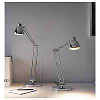 IKEA ANTIFONI Наcтольная лампа с никелевым покрытием  (203.047.36)