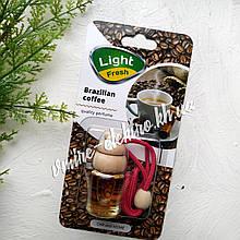 Ароматизатор в машину (бразильский кофе) Light Fresh Brazilian coffe