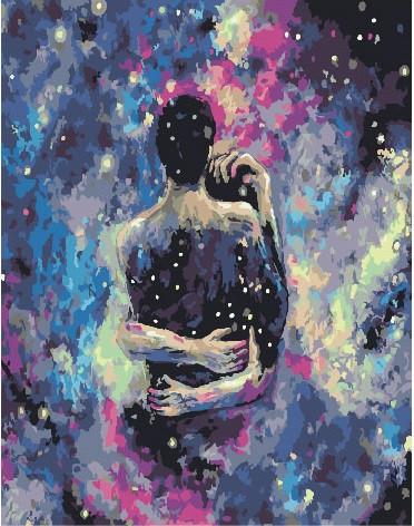 Картина по номерам Космическая любовь 40 х 50 см (BK-GX25853)