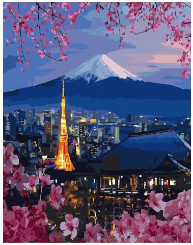 Картина по номерам Путешествие по Японии 40 х 50 см (BK-GX26047)