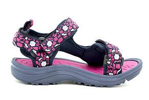 Сандалии для девочки Размеры: 28-33 Цвет -Сине-розовый, фото 2