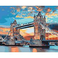 Картины по номерам / обложка. Лондонский мост 40х50см арт. КНО3515