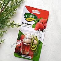 Ароматизатор в машину (клубника) Light Fresh Strawberry