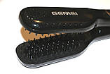 Расческа-выпрямитель Gemei GM 418, фото 7