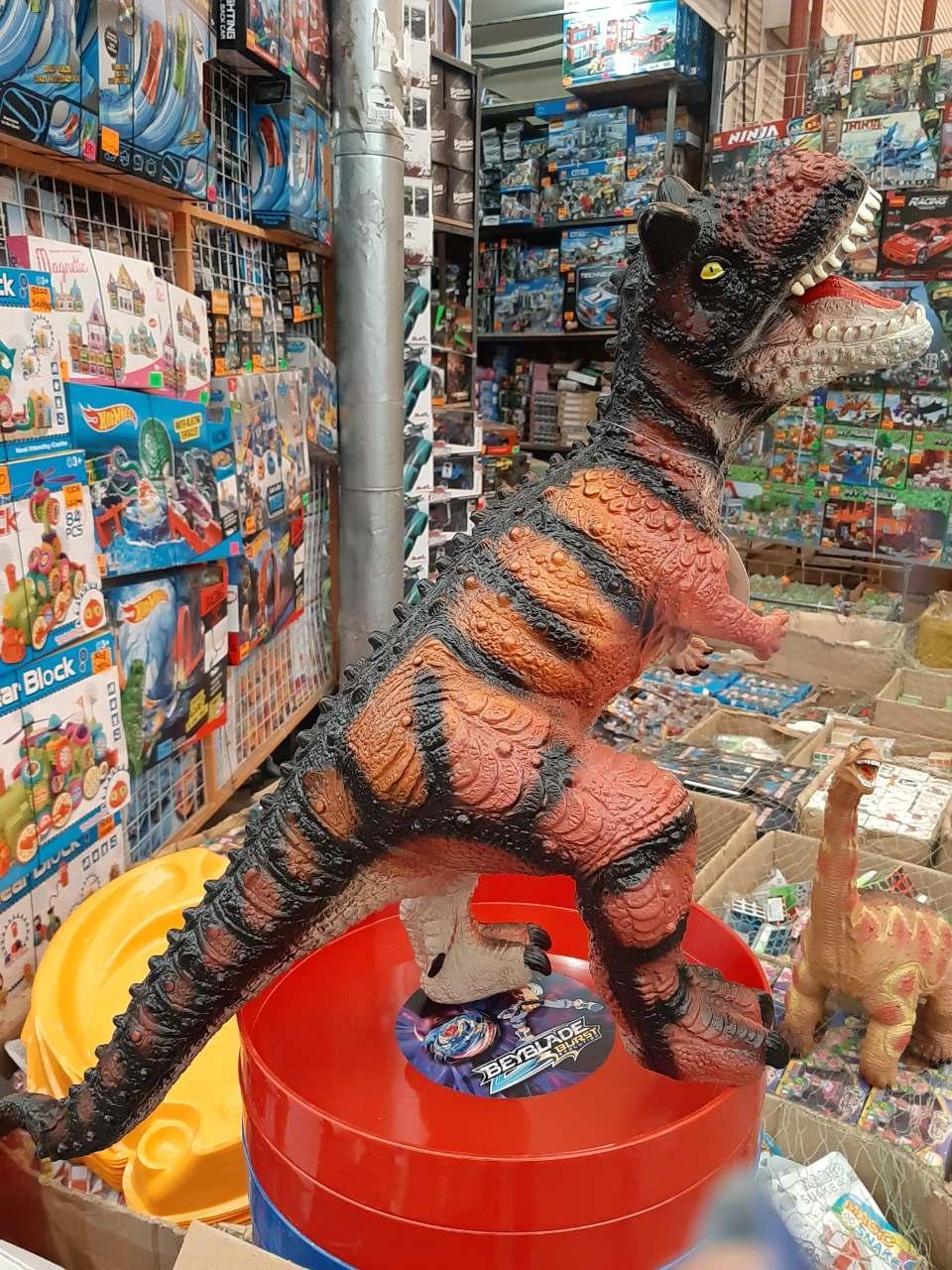 Динозавр Тираннозавр мягкий