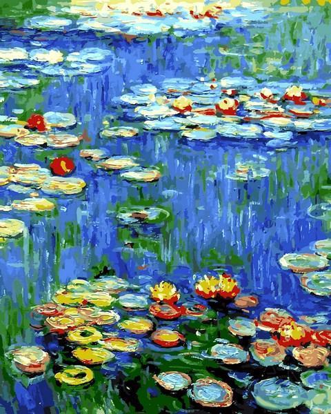 Картина по номерам Водяные лилии Клод Моне 40 х 50 см (VP1103)