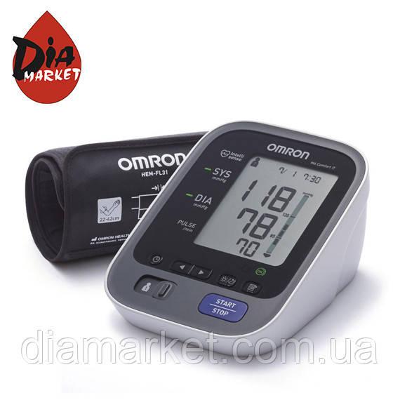OMRON M6 Comfort IT с уникальной манжетой Intelli Wrap
