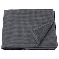 IKEA SALVIKEN Банное полотенце, антрацит  (603.493.42)