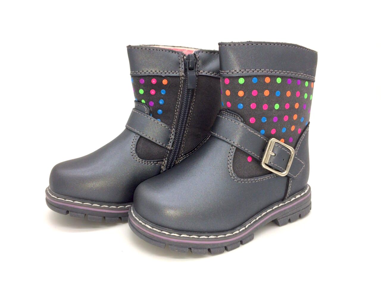 Ботинки осень-зима для девочек Clibee Размеры: 22,23,24,26,27