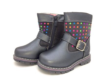 Ботинки осень-зима для девочек Clibee Размеры: 22,23,24,26,27, фото 2