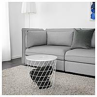 IKEA KVISTBRO Столик, белый  (303.494.52)