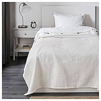 IKEA INDIRA Покривало, білий (801.917.55)