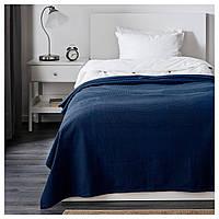 IKEA INDIRA Покривало, темно-синій (201.917.63)