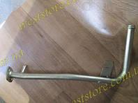 Трубка помпы Ваз 2101 2102 2103 2104 2105 2106 2107 новый образец (выход возле флянца)