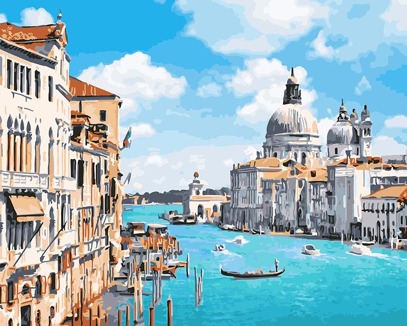 Картина по номерам Венецианская лазурь 40 х 50 см (BK-GX23820)