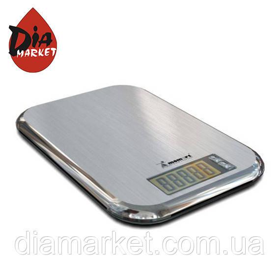 Весы электронные кухонные из нержавеющей стали (ультратонкие) MOMERT 6844
