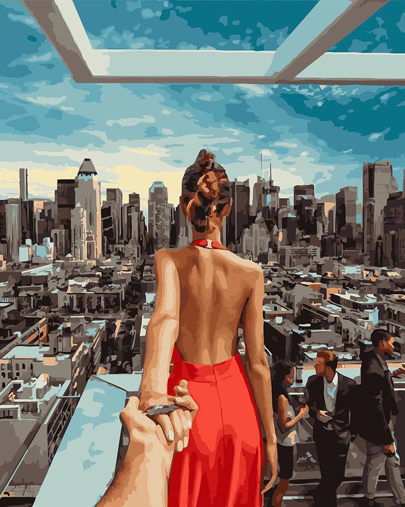 Картина по номерам Следуй за мной Манхеттен 40 х 50 см (PGX21784)