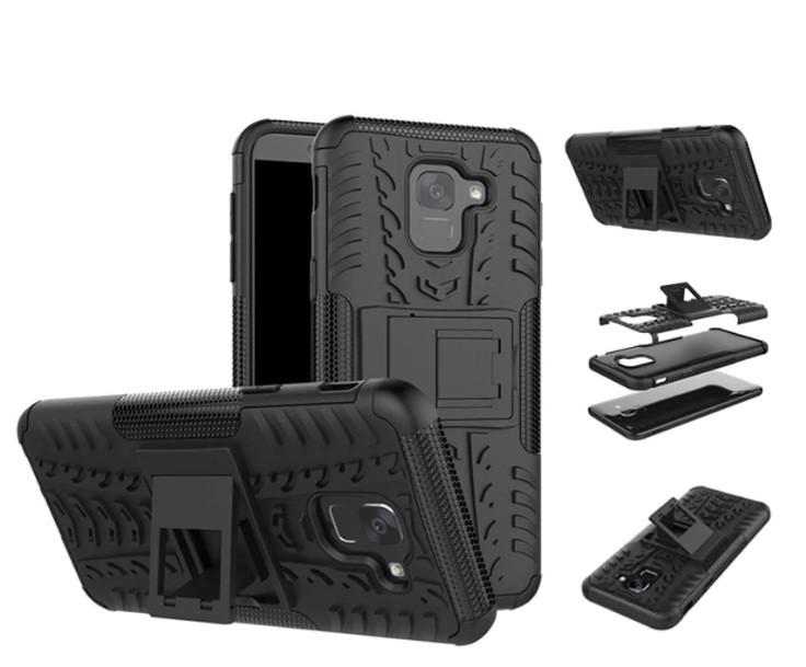 Чехол противоударный Armor для Samsung J6 2018 / J600 Черный