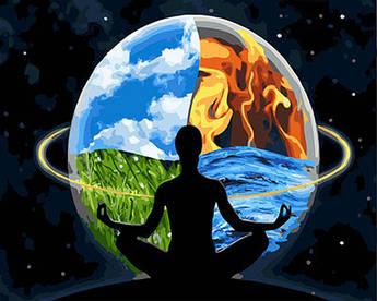 Картина по номерам Гармония вселенной 40 х 50 см (BK-GX26258)