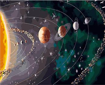 Картина по номерам Парад планет 40 х 50 см (BK-GX28317)
