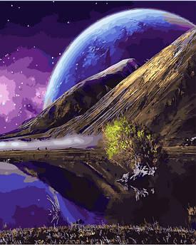 Картина по номерам Фантастический пейзаж 40 х 50 см (BK-GX28319)
