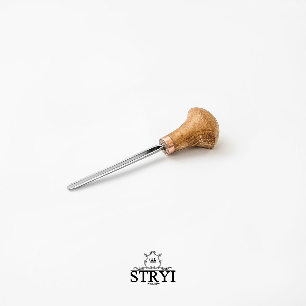 Штихель полукруглый 3 мм от производителя STRYI, профиль №9