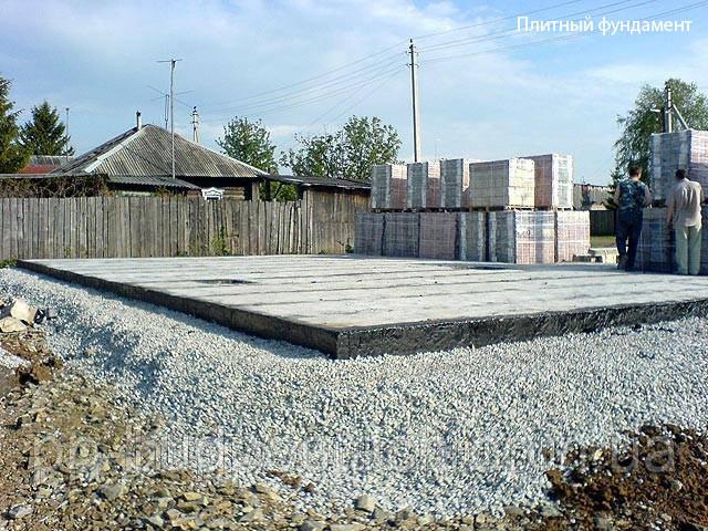 Консервація будівництва на єтапі готовий фундамент