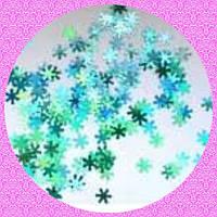 Снежинки для дизайна в ассортименте