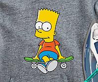 Рисунки на балетки Барт со скейтом [Свой размер и материалы в ассортименте]